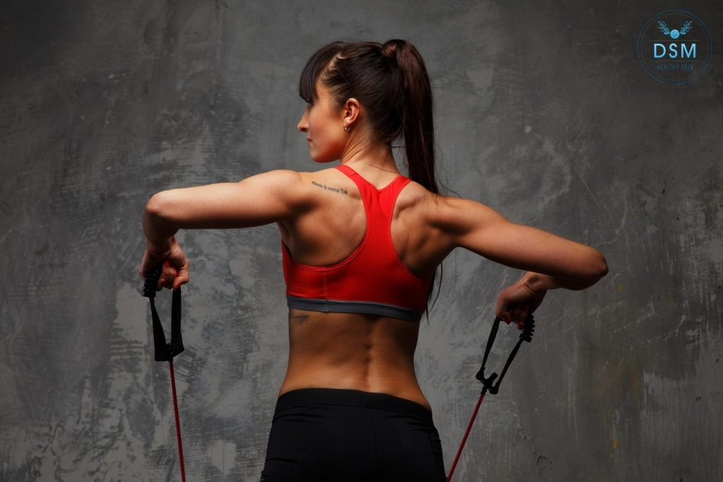 Does Emsculpt deal with back fat? - DSM Healthy Skin